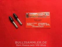 VW Käfer Türsicherungsknopf Türpinne schwarz (0512-1)