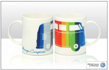 Tasse / Becher VW Bus T1 bunt