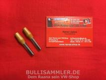VW Käfer Türsicherungsknopf Türpinne Chrom/Holz (0512)