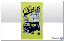Geschirrtuch Motiv VW Bus T1 gelb Surf Bus (23-040)