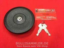 Tankdeckel mit 2 Schlüsseln für VW Bus T3 05/79-08/92 (0491-900)