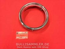 VW Käfer 68-74 Chromring 3loch für Scheinwerfer Metall verchromt