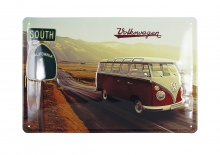 Blechschild VW Bulli T1 Highway