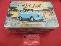 VW T1 Lets get lost Metall-Vorratsdose Blechdose Dose Geschen (62-054)