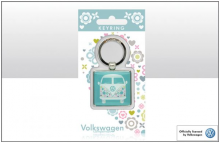 Schlüsselanhänger VW Bus Bulli T1 mint (23-064)