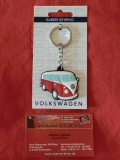 Schlüsselanhänger VW Bus T1 rot (23-065)