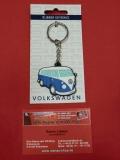 Schlüsselanhänger VW Bus T1 blau (23-066)