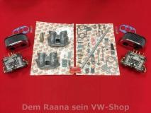 WEBER 40 IDF 70 Doppelvergaser Komplettset, Porsche 914 GB-Köpfe