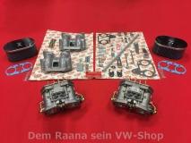 ORIGINAL WEBER 40 IDF 70 Doppelvergaser SET für CU+CJ Motor VW Bus T2 T3