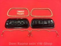 Ventildeckel mit Spannbügel u. Dichtungen SET VW Typ1-Motor