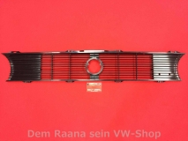 Kühlergrill Mittelteil VW Golf 1, Cabrio, Caddy Einzelscheinwerf (13-148)