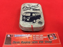 Pillendose / Blechdose m. Pfefferminzdragees VW Bus T1 The original ride
