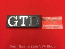 VW Golf 1 GTD Typenschild vorne 171.853.679D ORIGINAL VW (13-149)