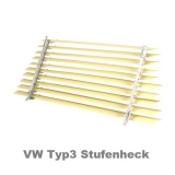 VW Typ3 Stufenheck Heckscheibenjalousie (0348-310)