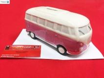 Spardose VW Bus T1 pink