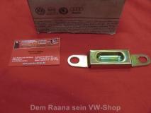 Fangblech Fernbetätigungsschloß für VW Bus T2 Schiebetür ORIGINAL VW (13-170)