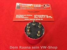 Relais Kraftstoffpumpe 12V für Porsche 911 rot rund 5polig (-521)