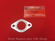 Dichtung zw. Auspuff / Zylinderkopf / Wärmetauscher vom VW Käfer, Bus T1, T2, T3  (1058)