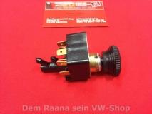 Scheibenwischerschalter mit Knopf für VW Käfer 68-72, Bus T2a, Typ3 (2444-110)