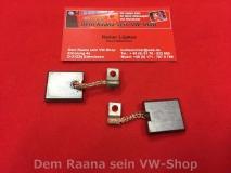 Kohlen für Lichtmaschine 6V und 12V, VW Käfer, Bus T1, T2, Kübel (-526)