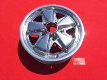 Fuchs-Style Felge 4.5x15 5x130 ET42 MIT TÜV - komplett poliert (-020)
