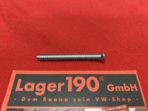 Schraube vom Chromring für VW Käfer, Bus T2 Scheinwerferring (-574)