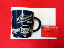 Kaffeebecher Becher VW Bus T1, Golf, Käfer Tasse -