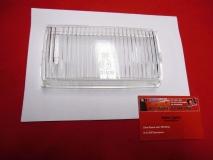 Glas für Nebelscheinwerfer für Mercedes W107 R107 Sl SLC klar NOS BOSCH (-087)