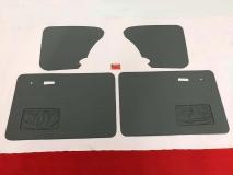 Türverkleidungen grau für VW Käfer ab 66- Türtafeln Seitenverkleidung (-639)