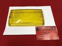 Glas für Nebelscheinwerfer gelb für Mercedes W107 R107 Sl SLC, NOS BOSCH (-088)
