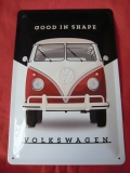 VW Bus T1 Good in shape Blechschild Schild