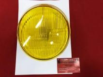 Glas für Scheinwerfer gelb für Porsche 911 (67-73) NOS BOSCH (31-092)