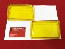 Glas für Nebelscheinwerfer gelb Porsche 928 (78-86) Paar NOS BOSCH (-097)