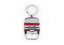 Flaschenöffner / Schlüsselanhänger VW Bus T3 rot