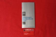 VW Kundendienst Pass Original ab 1966 Blanko Rarität NOS Ausgabe Feb. 69 (-087)