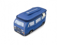 VW Bus T3 Neoprentasche blau