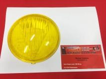 HELLA 12060 Schweinwerferglas gelb 105mm Messerschmitt KR175, Steyr Puch (-079)