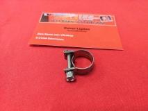 Schelle für 6,0mm und 7,5mm Benzinschlauch Schlauchschelle Kraftstoffschlauch Benzinpumpe 12-14mm für VW Käfer Bus EDELSTAHL (-008)