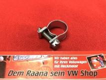 Schelle für 6,0mm und 7,5mm Benzinschlauch Schlauchschelle Kraftstoffschlauch Benzinpumpe 12-14mm für VW Käfer Bus verzinkt (59-005)