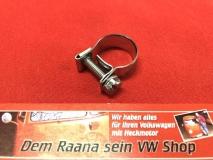 Schelle für 8,0mm Benzinschlauch Kraftstoffschlauch Benzinpumpe Schlauchschelle 14-16mm für VW Käfer Bus verzinkt (59-006)
