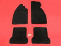 Fußmatten schwarz für VW Käfer 4teilig (0529-700)