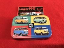 XL Pillendose VW Bus T1 Pop Art (62-090)