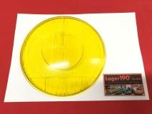 Glas für Hauptscheinwerfer gelb Mercedes W186, Setra Reisebus S6+S11 BOSCH NOS (-109)