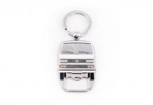 Schlüsselanhänger / Flaschenöffner T3 Bus weiß