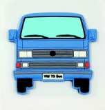 Softmagnet VW Bus T3 blau (07-094)