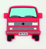 Softmagnet VW Bus T3 rot (07-095)