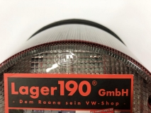 Rückleuchte Elefantenfuß VW Käfer Original HELLA Grau/Rot/Weiß Rücklicht (-012)