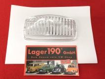 Glas Nebelscheinwerfer VW Käfer, Bus T1, Porsche 356 NOS Hella 082333-03 klar (-113)