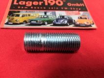 Stehbolzen M14x1,5 38mm Radbefestigung Radmutter Felge für VW Käfer Karmann Bus Radschraube (2584-30)