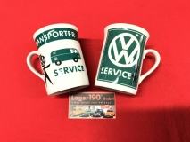Tasse VW Service und Tasse Mr. Bubblehead
